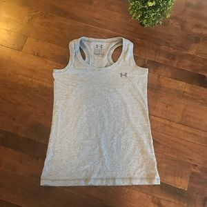 EUC Under Armour Charged Cotton Racerback Tank